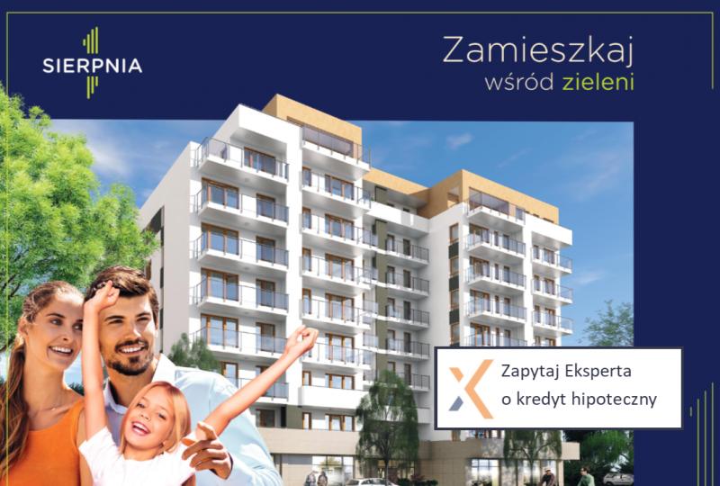 """Rusza sprzedaż mieszkań w inwestycji """"1 Sierpnia"""""""