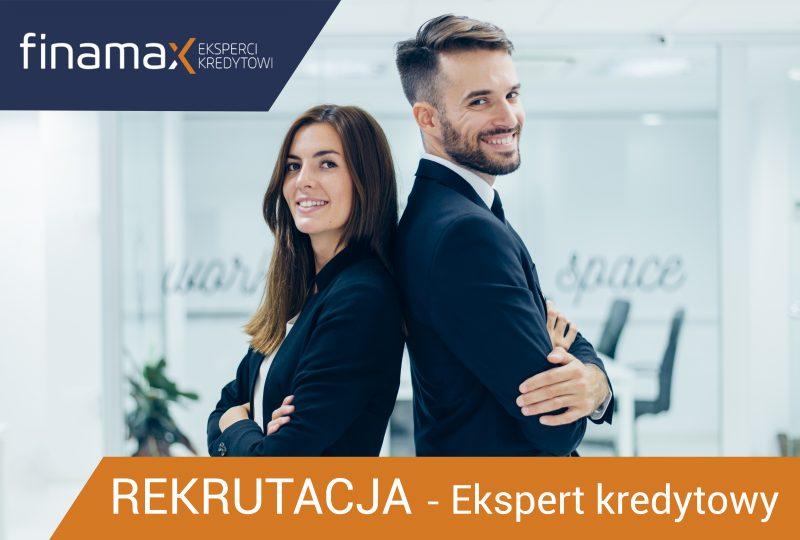 Rekrutujemy! Dołącz do naszego zespołu, jako Ekspert kredytów hipotecznych.