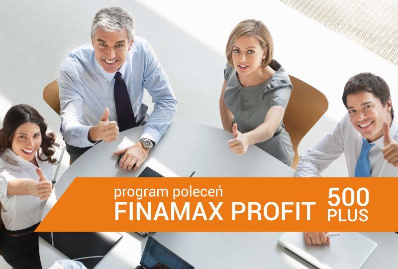 Program poleceń Finamax Profit 500 PLUS
